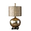 "<strong>Uttermost</strong> Julian 31"" H Table Lamp with Drum Shade"