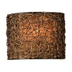 <strong>Uttermost</strong> Woven Rattan 1 Light Naturals Knotted Wall Sconce
