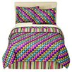 Dots and Stripes Spice Comforter Set
