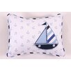Bacati Little Sailor Decorative Pillow