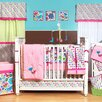 Botanical Sanctuary 10 Piece Crib Bedding Set with Bumper