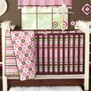 Mod Dots and Stripes 10 Piece Crib Bedding Set