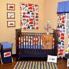 Transportation 10 Piece Crib Bedding Set