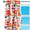 Transportation Cotton Rod Pocket Curtain Panel