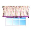 "Bacati Botanical Sanctuary 58"" Curtain Valance"
