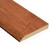 "0.5"" x 3.5"" Maple Messina Wall Base in Saddle"
