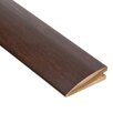 "0.56"" x 2"" Bamboo Walnut Hard Surface Reducer Molding in Walnut"