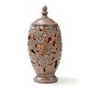 "<strong>CandleTEK 17"" Ceramic Floral Vase</strong> by Crescendo Fitness"