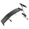 <strong>Crescendo Fitness</strong> Curved Sit Up Adjustable Ab Bench