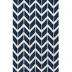 <strong>Fallon Sapphire Blue Rug</strong> by Jill Rosenwald Rugs