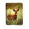 Shavel Home Products Deer Standing Polyester Throw Blanket