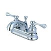 <strong>Elements of Design</strong> Vintage Centerset Bathroom Faucet with Double Lever Handles