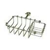 """Elements of Design Vintage 7"""" Riser Mount Soap Basket"""