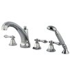 <strong>Elements of Design</strong> Roman Tub Faucet and Diverter Hand Shower