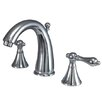 <strong>Widespread Bathroom Faucet with Double Lever Handle</strong> by Elements of Design