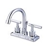 <strong>Elements of Design</strong> Tampa Centerset Bathroom Faucet with Double Lever Handles