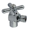 "<strong>1.75"" Decorative Quarter Turn Valve with Cross Handle</strong> by Elements of Design"