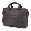 <strong>Claire Chase</strong> Small Business Leather Laptop Briefcase