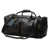 "<strong>Claire Chase</strong> Executive Sports 17"" Leather Carry-On Duffel"