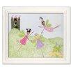 Doodlefish Fairies Princess Picnic Giclee Framed Art
