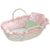 Doodlefish Princess Moses Basket Set