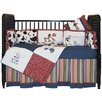 Western Fitted Crib Sheet