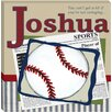 <strong>Doodlefish</strong> Personalized Baseball in the News Giclee Canvas Art