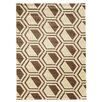 Linon Rugs Roma Comb Ivory/Beige Area Rug