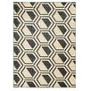 Linon Rugs Roma Bridle Grey/Charcoal Area Rug