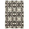 Linon Rugs Elegance Florence Ivory/Black Area Rug