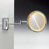 Windisch by Nameeks Incandescent Light 5X Magnifying Mirror with Two Arms Direct Wired