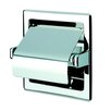 <strong>Geesa by Nameeks</strong> Standard Hotel Recessed Single Toilet Paper Holder with Cover in Stainless Steel
