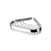 Geesa by Nameeks Basket Corner Soap Holder in Chrome