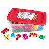 Educational Insights Jumbo AlphaMagnets and MathMagnets Combo Set - Multicolored