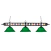 <strong>Landmark Lighting</strong> Designer Classics 3 Light Billiard , Island