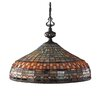 Landmark Lighting Jewelstone 3 Light Chandelier