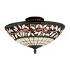 <strong>Landmark Lighting</strong> English Ivy 3 Light Semi Flush Mount
