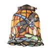 "Mix-N-Match 5.5"" Dragon Fly Design Glass Shade"