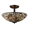 <strong>Landmark Lighting</strong> Trego 3 Light Semi Flush Mount