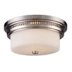 "<strong>Landmark Lighting</strong> 5"" Chadwick 2 Light Flush Mount"