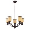 <strong>Landmark Lighting</strong> Brooksdale 5 Light Chandelier