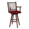 "<strong>Hickory 30"" Swivel Bar Stool</strong> by Fireside Lodge"