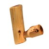 <strong>Fireside Lodge</strong> Traditional Cedar Log Single Coat Rack Peg