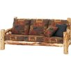 <strong>Fireside Lodge</strong> Traditional Cedar Log Sofa