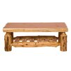 <strong>Traditional Cedar Log Coffee Table</strong> by Fireside Lodge