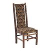 <strong>Fireside Lodge</strong> Hickory Upholstered Side Chair