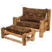 Traditional Cedar Log Chair