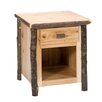 <strong>Hickory Nightstand</strong> by Fireside Lodge