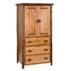<strong>Hickory Armoire</strong> by Fireside Lodge