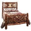 <strong>Fireside Lodge</strong> Adirondack Twig Slat Bed